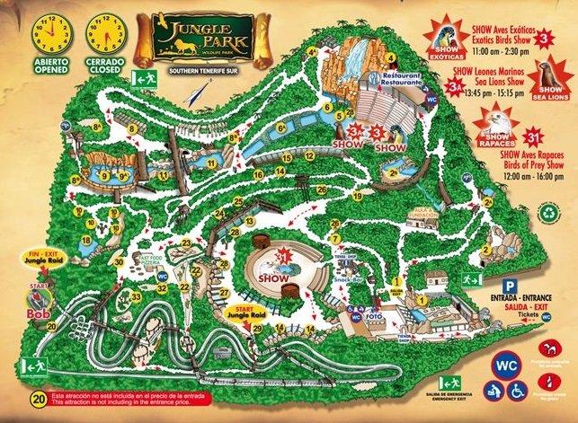 Jungle Park Map