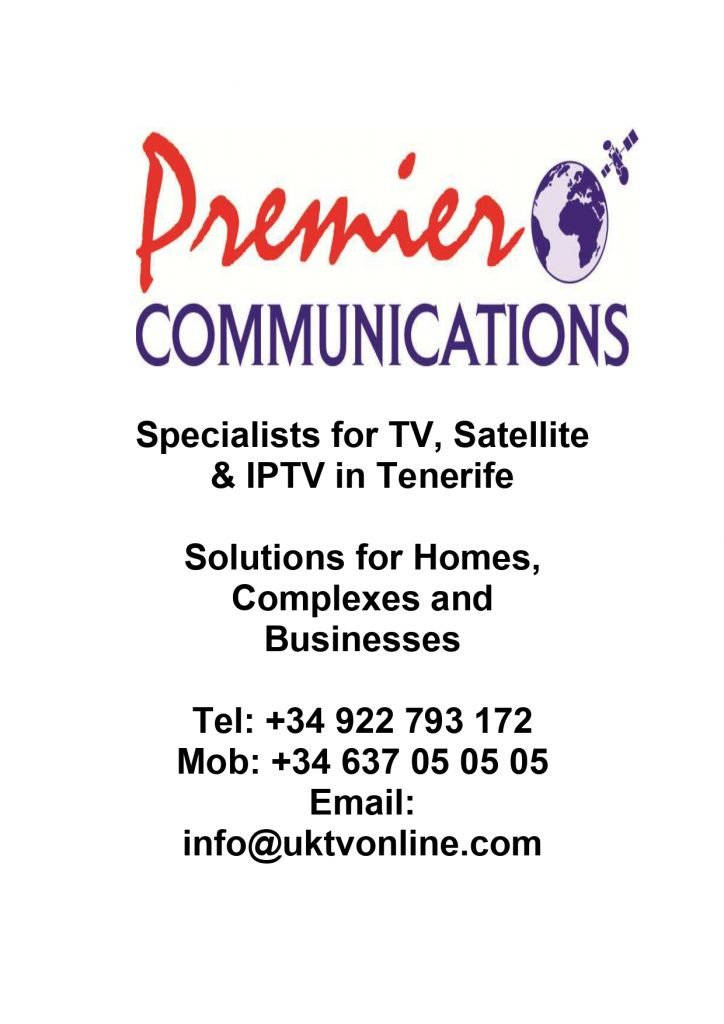 Premier Communications IPTV Tenerife