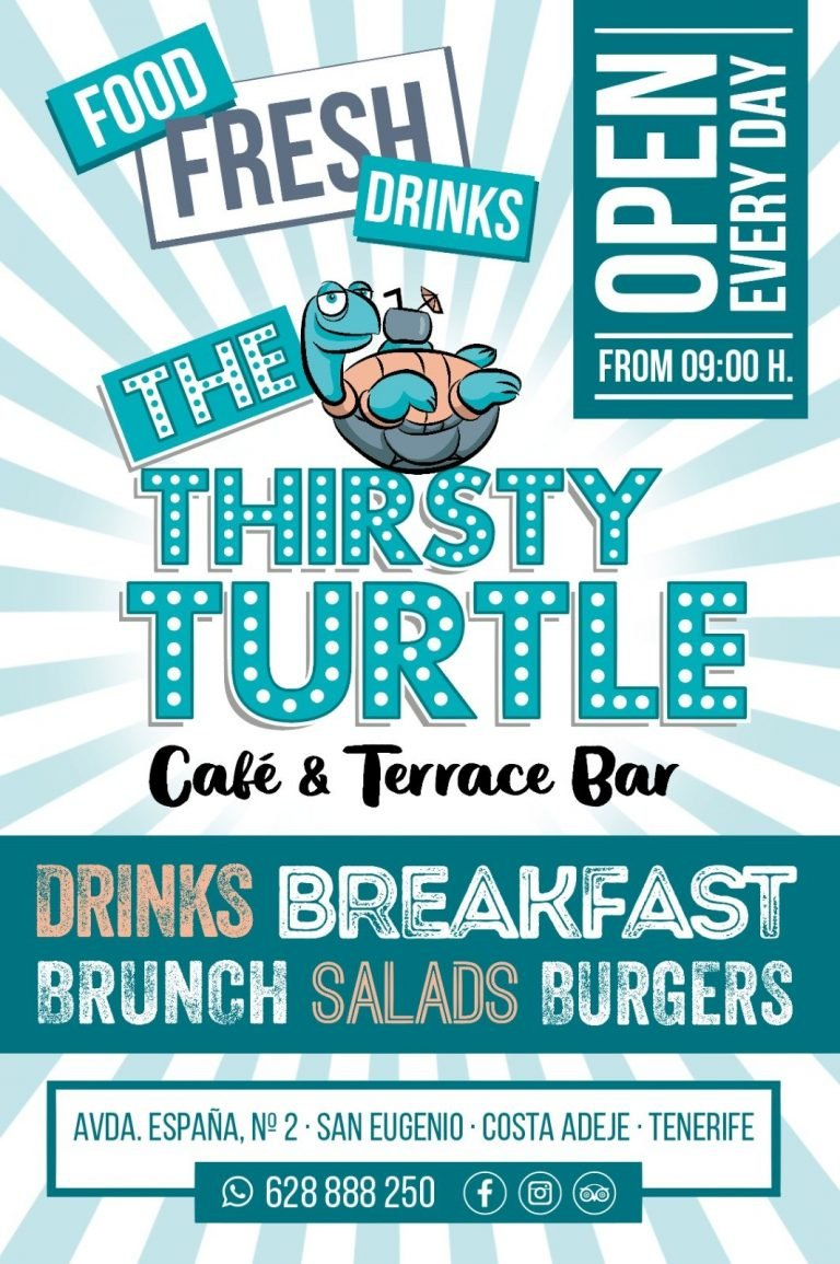 Thirsty Turtle Cafe Tenerife