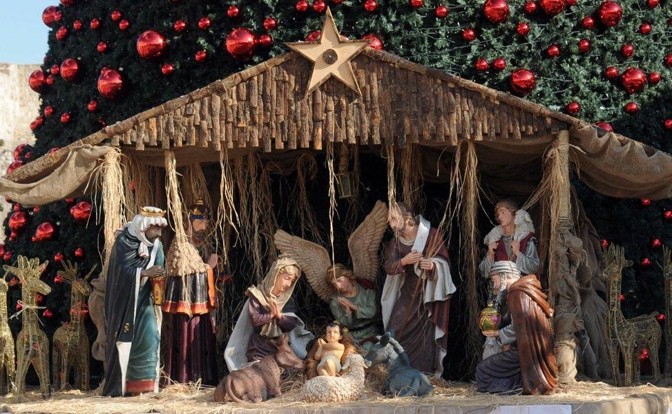 Christmas Nativity Scene in Tenerife