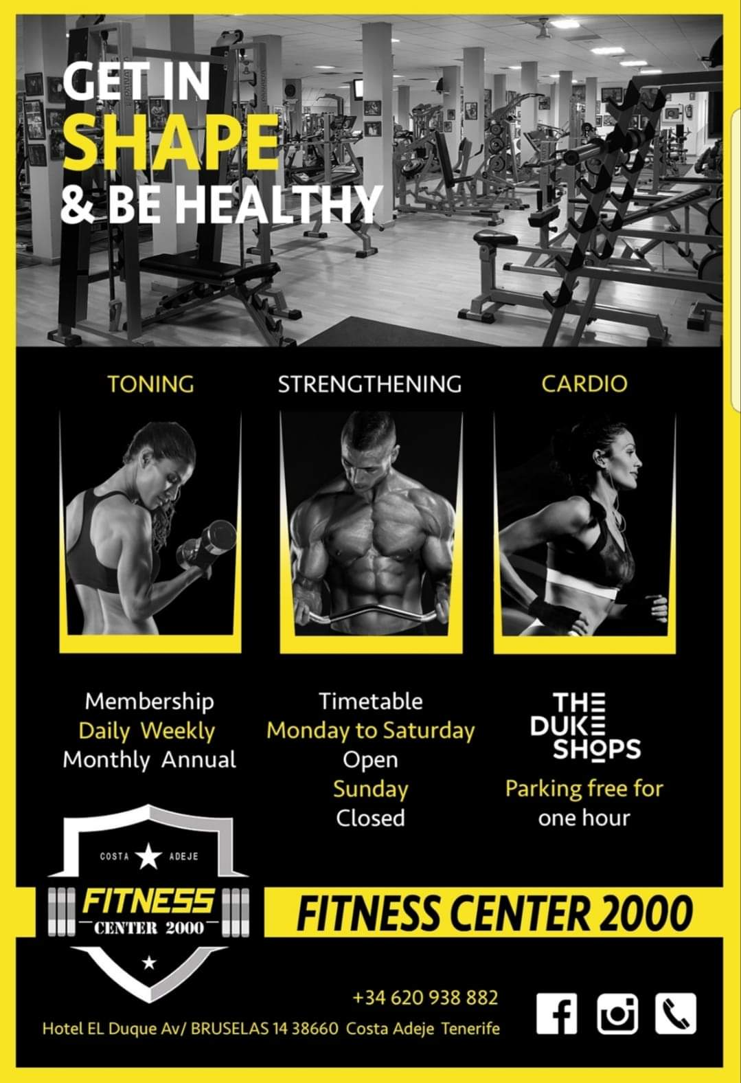 Fitness 2000 Gym Tenerife