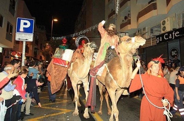 Three Kings Parade Tenerife