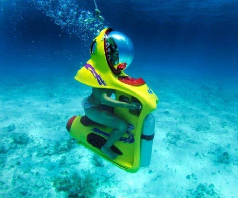 Bob Diving Underwater Scooter Tenerife