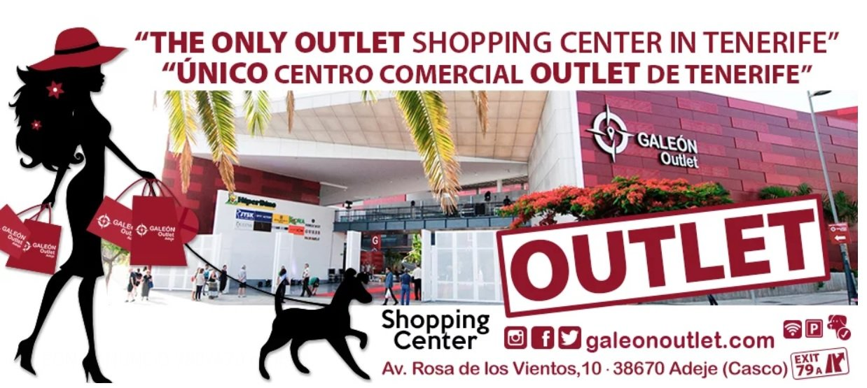 Galeon Outlet Mall Adeje Tenerife