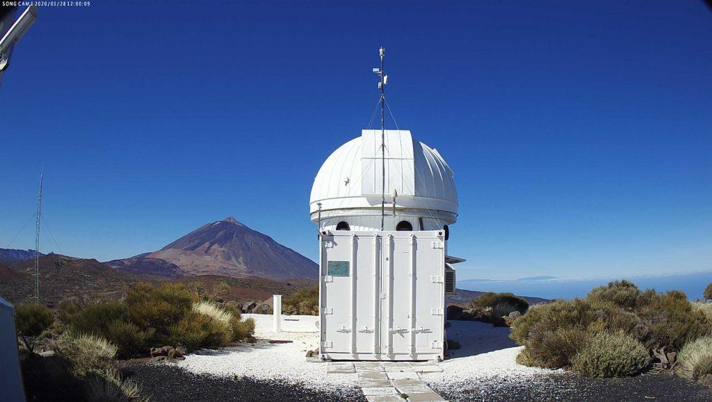 Song Observatory West Southwest Webcam