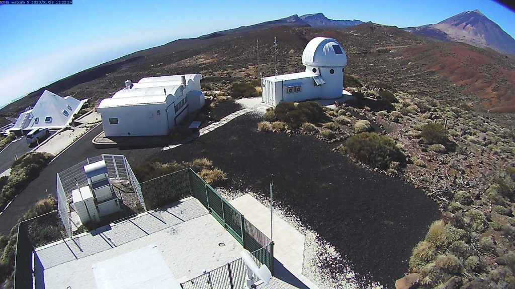 Song Observatory South SouthWest Webcam