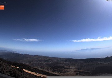 5 VIEWS FROM TEIDE CABLE CAR WEBCAMS