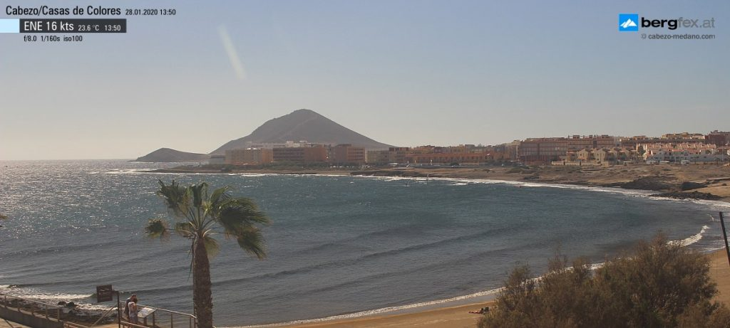 El Medano Bay Static Webcam