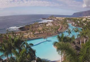 Hotel Gran Melia Palacio de Isora Lagoon Webcam