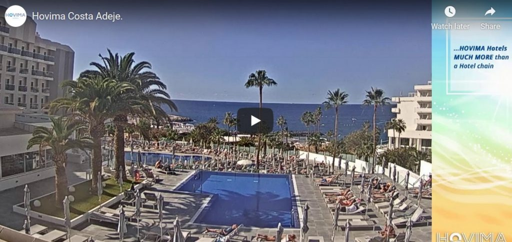 Hovima Costa Adeje Hotel Webcam