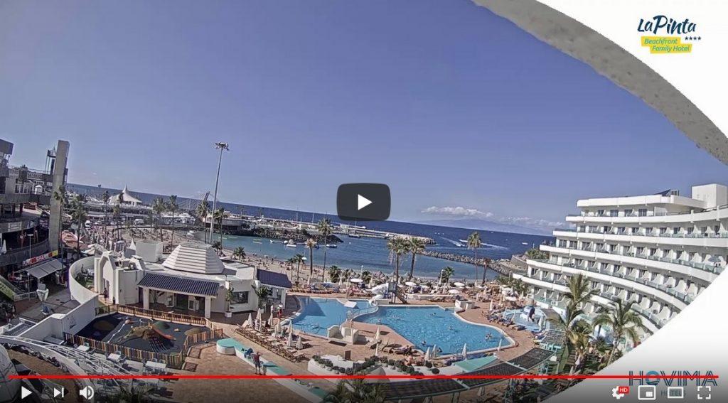 Hovima La Pinta Hotel Webcam