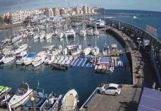 Marina del Sur - Las Galletas Webcam