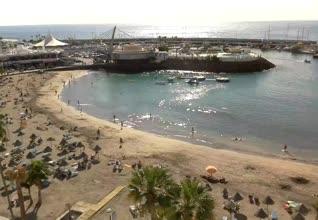 Playa La Pinta San Eugenio Webcam
