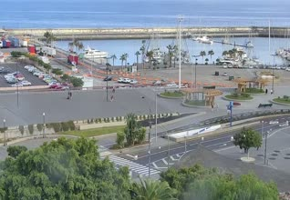 Plaza De Espana Santa Cruz Webcam