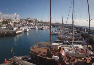 Puerto Colon Harbour Entrance - San Eugenio Webcam