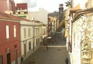 San Cristobal de La Laguna Old Town Webcam