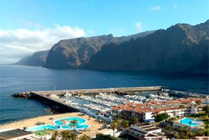 Los Gigantes Webcam