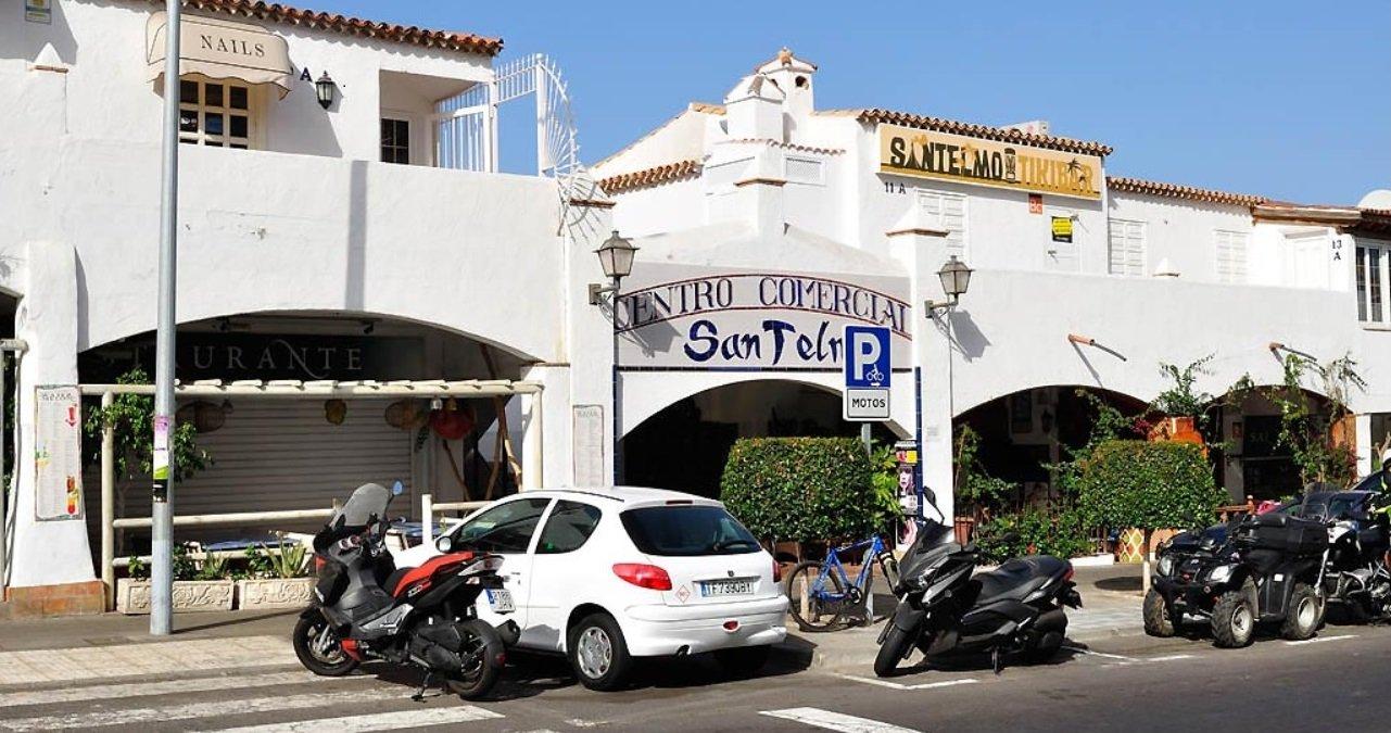 San Telmo Road Level Los Cristianos Tenerife