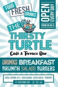 Thirsty Turtle Cafe Bar Tenerife