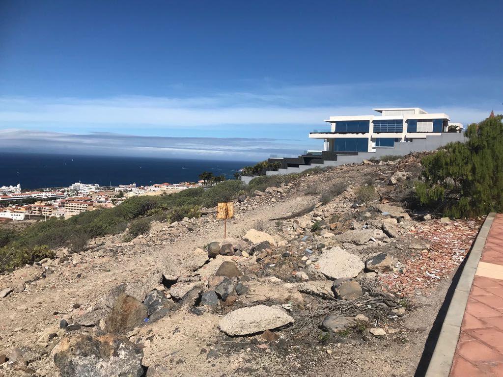 Unique Seaviews Plot with project in Caldera del Rey, Adeje