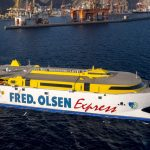 Ferries operating to and from Tenerife