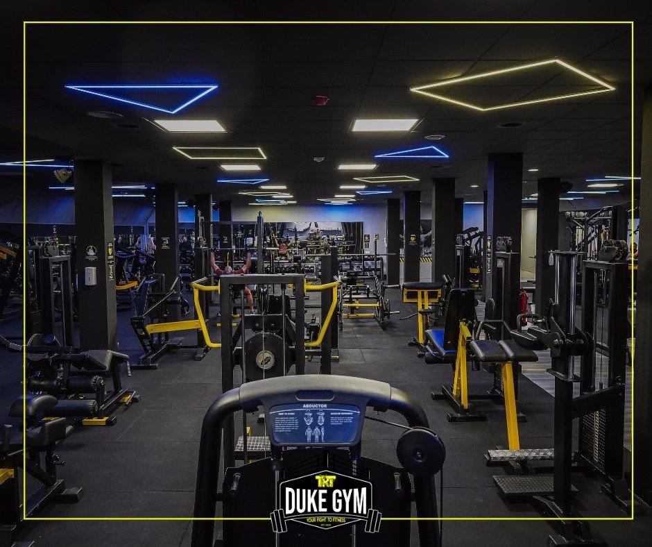 Duke Gym Weights Room