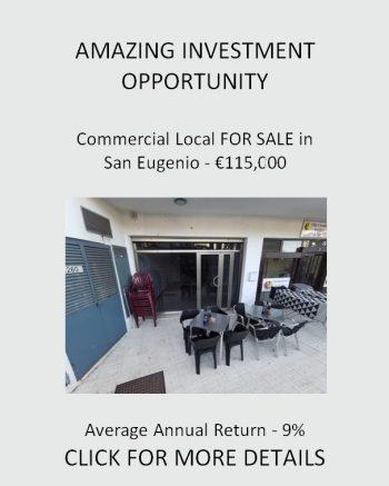 Local for Sale in San Eugenio Club Atlantis
